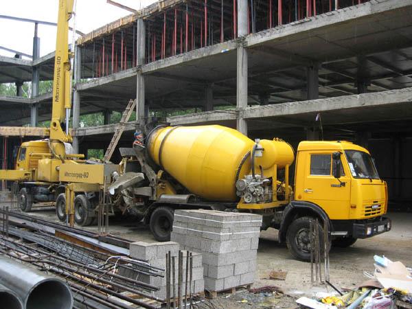 ...растворного узла, открытие новой линии по производству бетона.